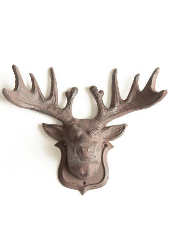 Elk Wall Mount - $62.00: ThreadSence, Women's Indie & Bohemian Clothing, Dresses, & Accessories