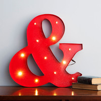 ModCloth Dorm Decor Lampersand