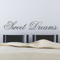 Sweet Dreams Wall Sticker from abp graphics | Made By  | 8.99 | Bouf