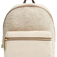 Women's Elizabeth and James 'Cynnie' Suede & Wool Backpack