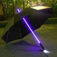 LED COLOR CHANGING LIGHTED UMBRELLA