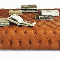 Pouf Capitonne, De Padova, Accessories - Manhattan - Suite New York