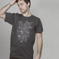 SILBERFISCHER Shirt Men Birdhouse (dark grey) | selekkt.com