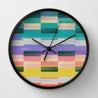 rhythm Wall Clock by SpinL