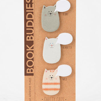 Book Buddies Sticky Notes - Set Of 3