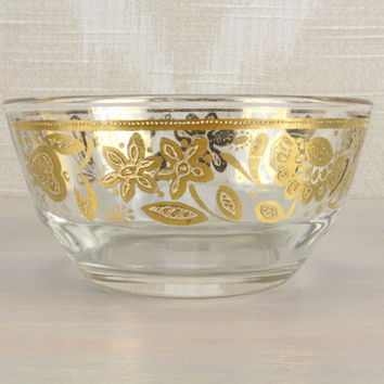 22k Gold Culver Snack Bowl