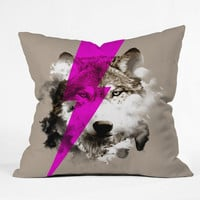 DENY Designs Home Accessories | Robert Farkas Wolf Rocks Throw Pillow