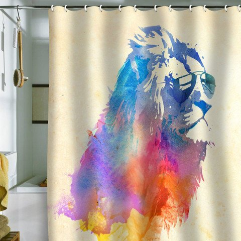 DENY Designs Home Accessories | Robert Farkas Sunny Leo Shower Curtain