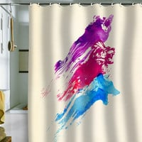 DENY Designs Home Accessories | Robert Farkas Wild Colours Shower Curtain