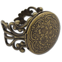 Memory Lane Locket Ring: Soul-Flower Online Store