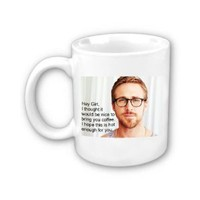 Amazon.com: Ryan Gosling Coffee Mug: Everything Else