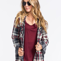 YOUNG & RECKLESS Womens Flannel Shirt | Flannels & Plaids
