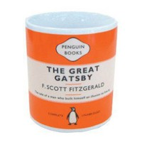 Penguin Mug -The Great Gatsby, F Scott Fitzgerald | Penguin Mugs | Penguin Deckchairs | Espresso | | Art Meets Matter