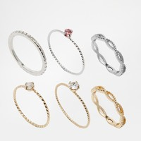 Delicate Ring Pack
