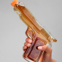 Glass Gun Decanter