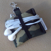 iPod Nano 6th generation or iPod shuffle cover case READY TO SHIP Camo print