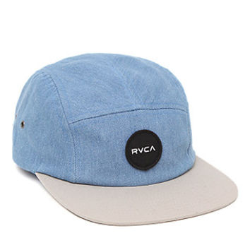 RVCA Twelve Ounce 5 Panel Hat  Mens Backpack  Blue  One