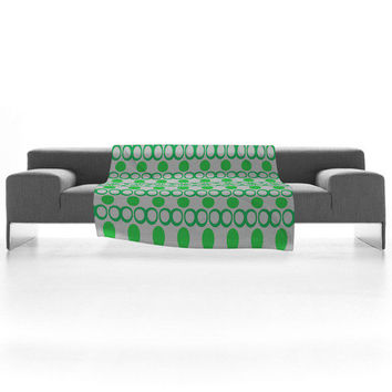 DENY Designs Home Accessories | Lisa Argyropoulos Retrocity In Spearmint Fleece Throw Blanket