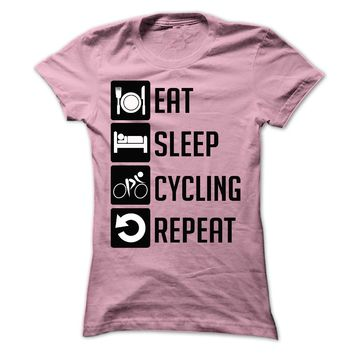EAT, SLEEP, CYCLING AND R