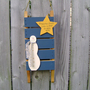 CLEARANCE - 50% Off - Sled-Snowman-Star
