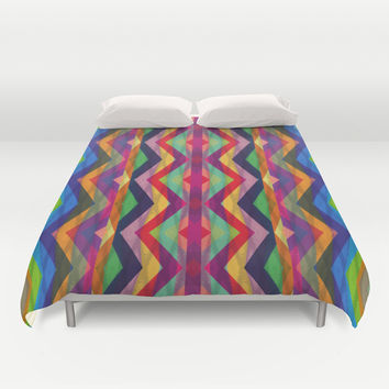 Mix #254 Duvet Cover by Ornaart