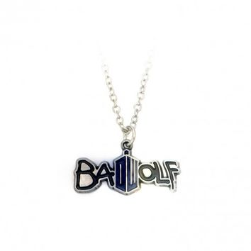 Doctor Who Bad Wolf Delicate Chain Necklace