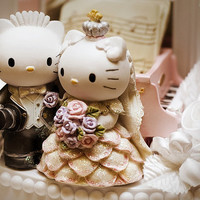 Nothing Feels as Good as Food Tastes..., OMG I want this on my wedding cake hello-kitty:...