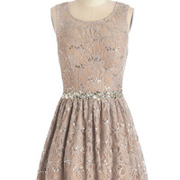 ModCloth Sleeveless A-line Song And Radiance Dress