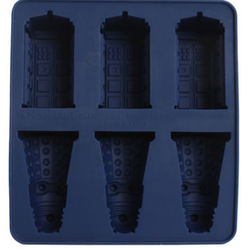 Doctor Who TARDIS And Dalek Ice Cube Tray
