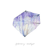 February - Amethyst Limited Edition Art Print by Naomi Ernest | Minted