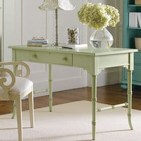 Coastal Living Table Desk In Choice Of Color : Desks Vanities at PoshTots