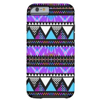 Princess - Purple Aztec Pattern iPhone 6 Case