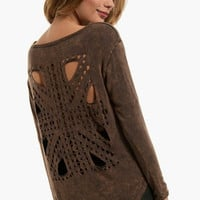 Tribal Cut Top $38