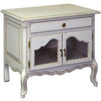 French Country Night Stand In Versailles Finish : Nightstands at PoshTots