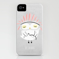 BE BRAVE iPhone Case by Kelli Murray | Society6
