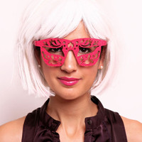 Venice Kick Eyes Glasses : Free Shipping