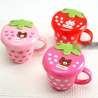 YESSTYLE: Lazy Corner- Strawberry Cup - Free International Shipping on orders over $150