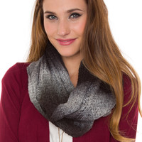 Everly Infinity Scarf - Black - One Size / Black