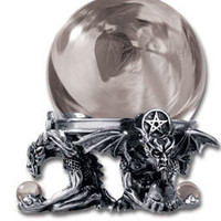 Eye of Astrontiel Crystal Ball - Occult Artifacts - Home Stuff - Gothic, Vampire & Steampunk stuff at GothicPlus.com (Powered by CubeCart)