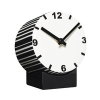 Tid Ceramic Clock Black And White [GS-1138-1001] - $69.00 - GSelect  - Gifts for Men. Unique, Cool Gift Ideas and Presents