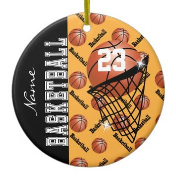 Personalize Gold Basketball