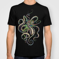 Octopsychedelia T-shirt by TAOJB