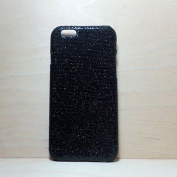 Glitter Case for iphone 6 (4.7 inches) - Black