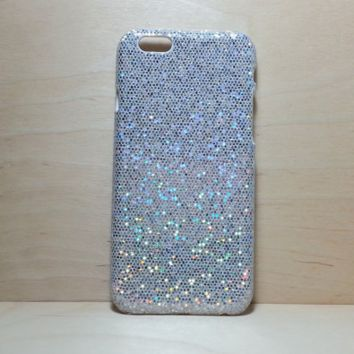 Glitter Case for iphone 6 (4.7 inches) - Silver