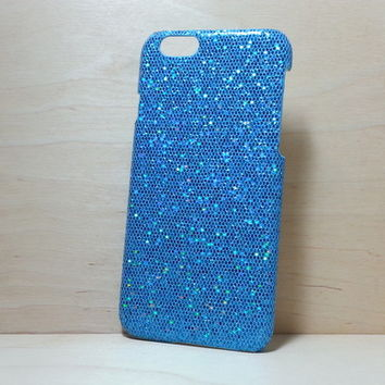 Glitter Case for iphone 6 (4.7 inches) - Light Blue