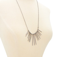 Matchstick Fringe Necklace