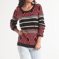 Machu Peaches Sweater