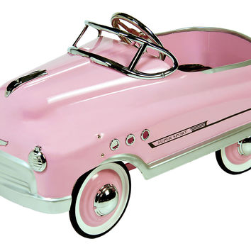 Comet Sedan Pedal Car Pink Childrenx27s Toys