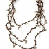 The Wind Cries Mary Suede Necklace