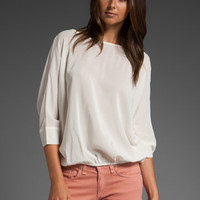 JOIE Liza Top in Porcelain at Revolve Clothing - Free Shipping!